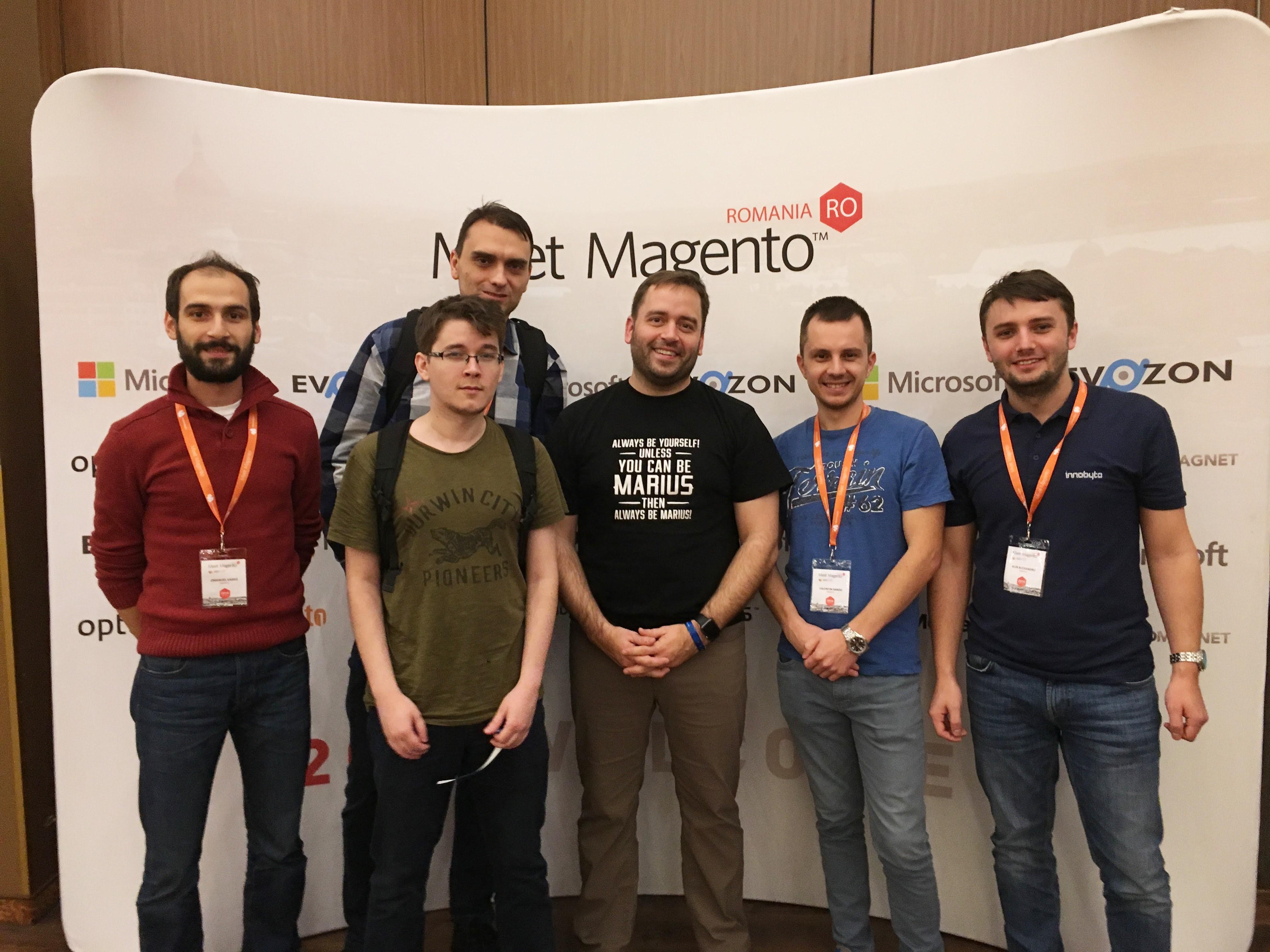 Innobyte was at Meet Magento Romania