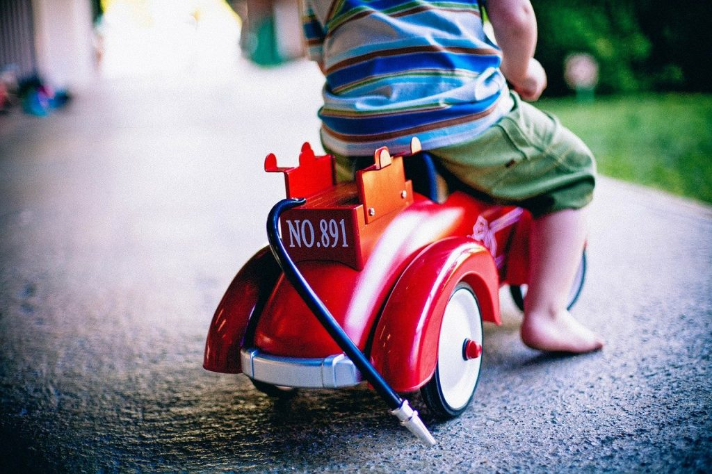 bobby-car, toy car, toy